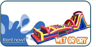 wet obstacle course rentals houston