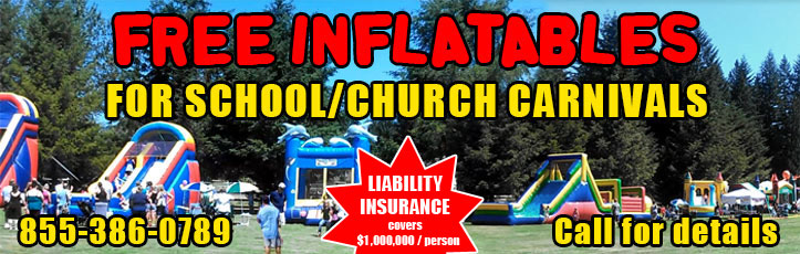package deals bounce house inflatable rentals corporate events austin texas