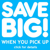 Save BIG on inflatable rentals! Get 4 days for the price of 1 when you pick up the inflatable