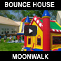 Moonwalk Bounce House Rentals houston