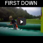 first down bungee basketball rentals texas