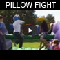 pillow fight Rentals kids texas